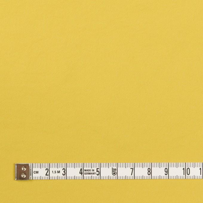 ポリエステル&ポリウレタン×無地(マスタード)×サージ・ストレッチ_全10色 イメージ4