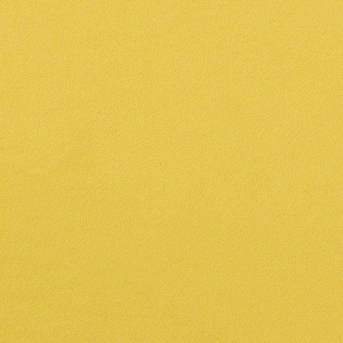 ポリエステル&ポリウレタン×無地(マスタード)×サージ・ストレッチ_全10色 イメージ1