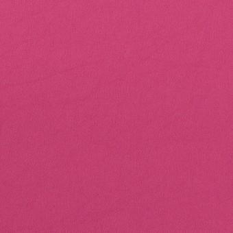 ポリエステル&ポリウレタン×無地(マゼンダ)×サージ・ストレッチ_全10色