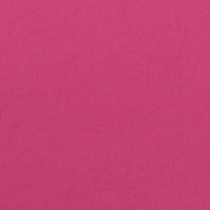 ポリエステル&ポリウレタン×無地(マゼンダ)×サージ・ストレッチ_全10色 イメージ1
