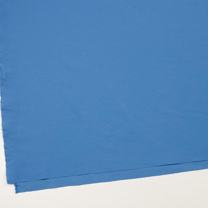 ポリエステル&ポリウレタン×無地(チョークブルー)×サージ・ストレッチ_全10色 イメージ2