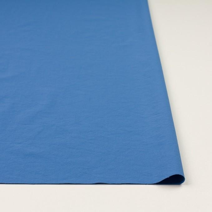 ポリエステル&ポリウレタン×無地(チョークブルー)×サージ・ストレッチ_全10色 イメージ3