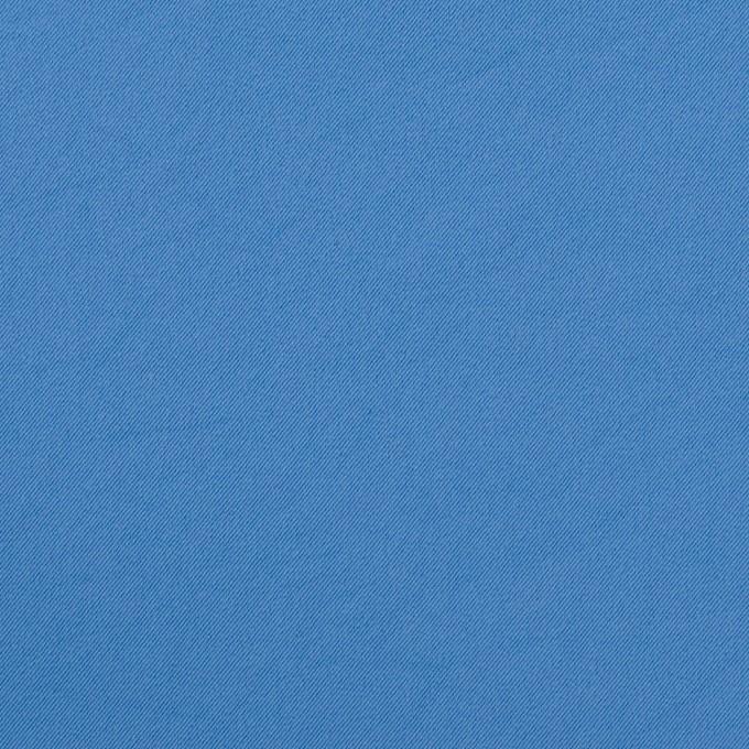 ポリエステル&ポリウレタン×無地(チョークブルー)×サージ・ストレッチ_全10色 イメージ1