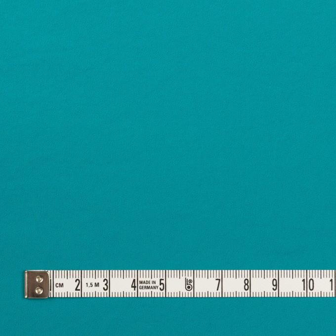 ポリエステル&ポリウレタン×無地(アクアブルー)×サージ・ストレッチ_全10色 イメージ4