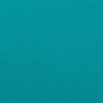ポリエステル&ポリウレタン×無地(アクアブルー)×サージ・ストレッチ_全10色