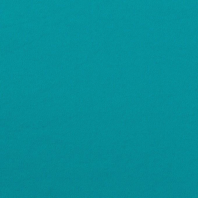 ポリエステル&ポリウレタン×無地(アクアブルー)×サージ・ストレッチ_全10色 イメージ1