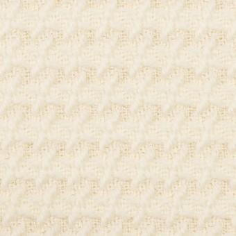 ウール&ナイロン×無地(クリーム)×かわり織