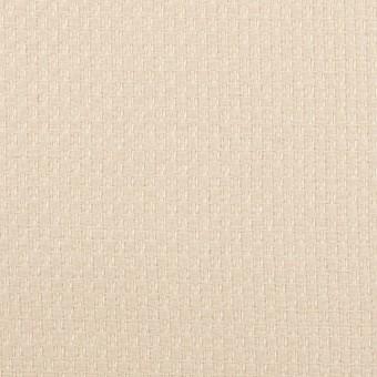 ウール&ポリエステル×無地(エクリュ)×かわり織