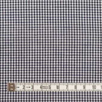 コットン×チェック(ブラック)×シーチング サムネイル4