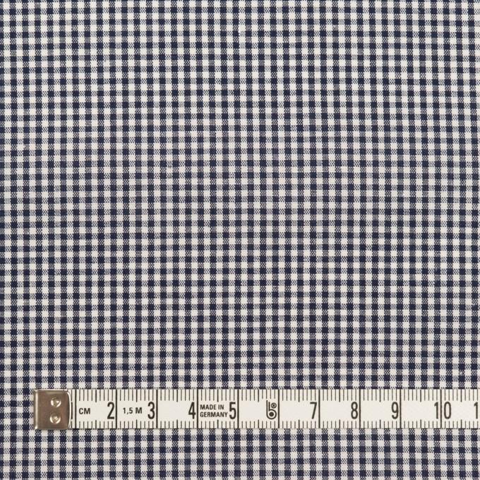 コットン×チェック(ブラック)×シーチング イメージ4