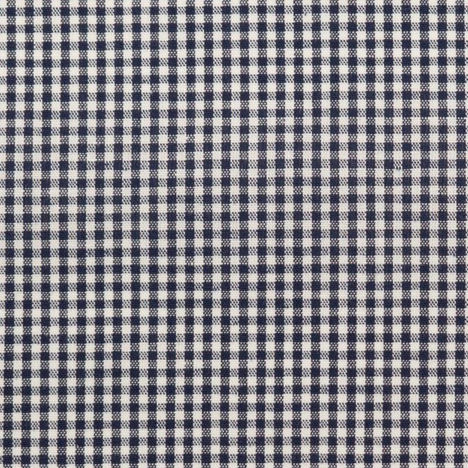 コットン×チェック(ブラック)×シーチング イメージ1
