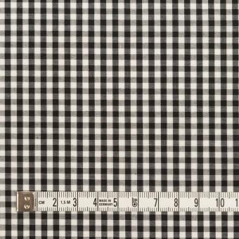 コットン×チェック(ブラック)×ブロード サムネイル4