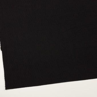 ウール×無地(ブラック)×ジャガード サムネイル2