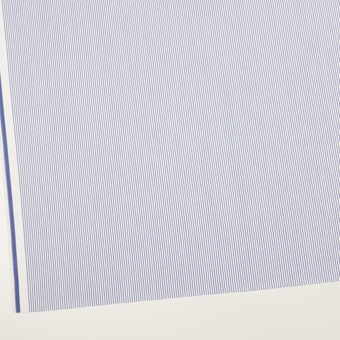 コットン×ストライプ(ブルー)×サージ_全2色 イメージ2