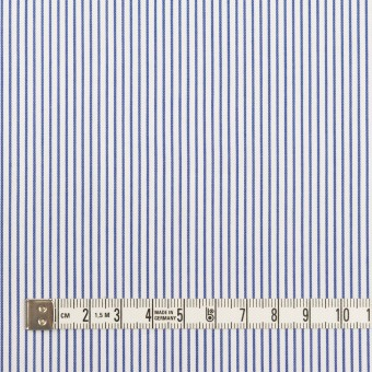 コットン×ストライプ(ブルー)×サージ_全2色 サムネイル4