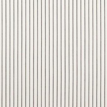 コットン×ストライプ(ブラック)×サテン_全2色
