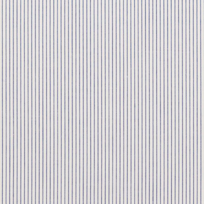 コットン×ストライプ(ブルー)×ローン_全2色 イメージ1