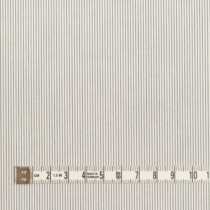 コットン×ストライプ(チャコール)×ローン_全2色 イメージ4