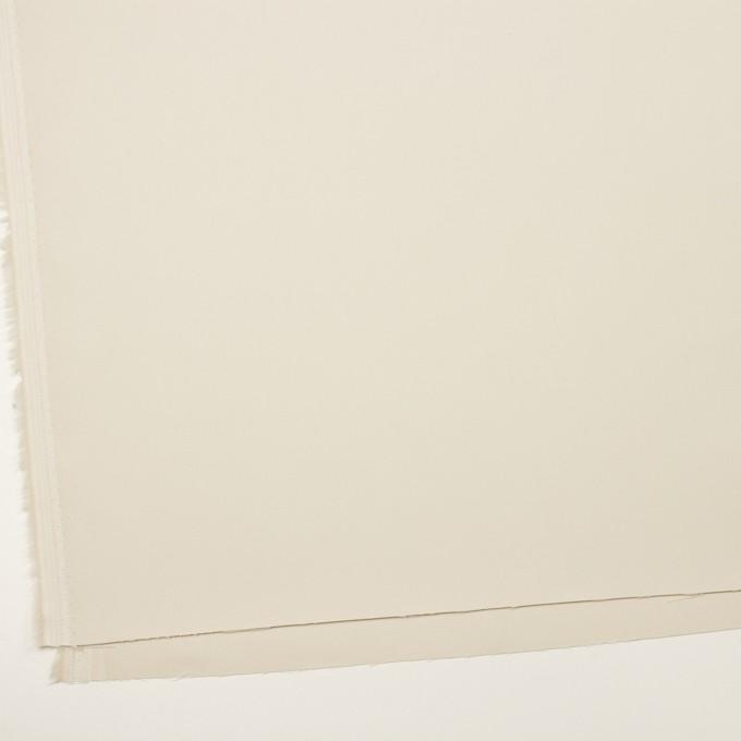 コットン×無地(アイボリー)×二重織_イタリア製 イメージ2