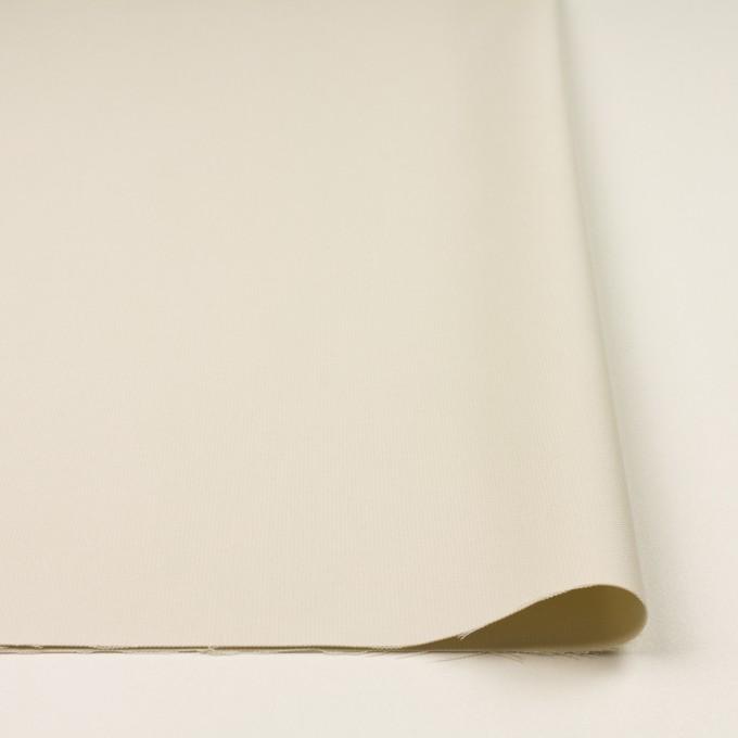 コットン×無地(アイボリー)×二重織_イタリア製 イメージ3