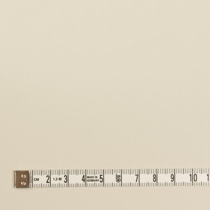 コットン×無地(アイボリー)×二重織_イタリア製 イメージ4
