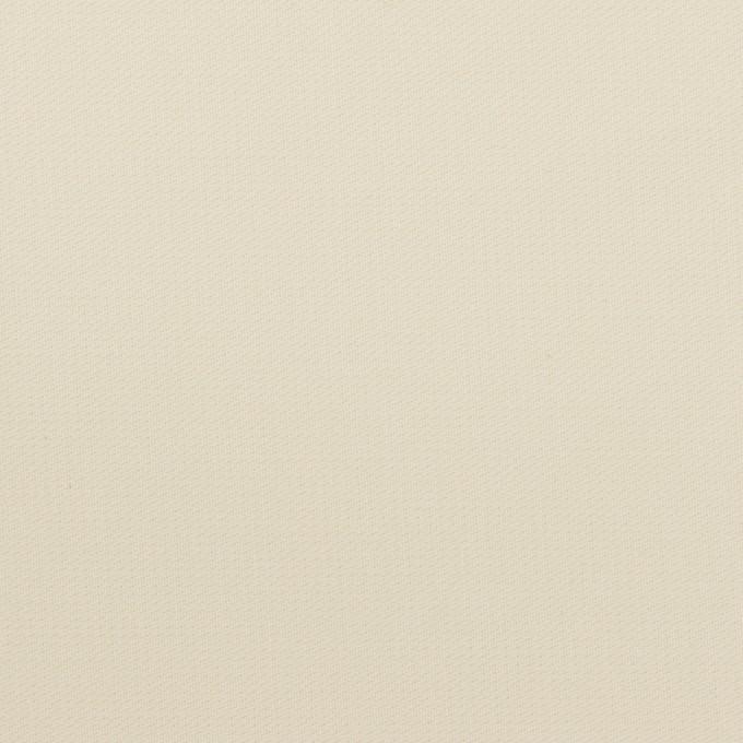 コットン×無地(アイボリー)×二重織_イタリア製 イメージ1