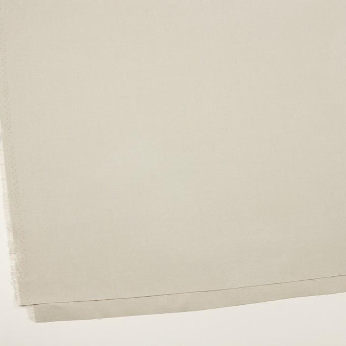 リネン&ビスコース混×無地(グリーンミスト)×サージストレッチ_イタリア製 イメージ2