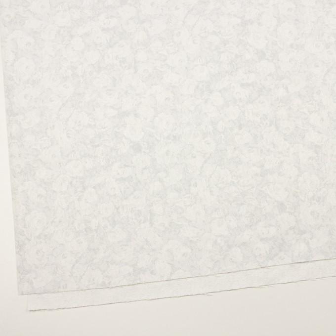 ポリエステル×フラワー(パールグレー)×ジャガード イメージ2