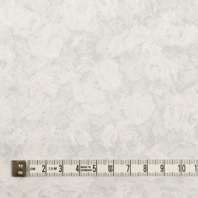 ポリエステル×フラワー(パールグレー)×ジャガード イメージ4