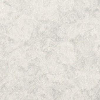 ポリエステル×フラワー(パールグレー)×ジャガード サムネイル1