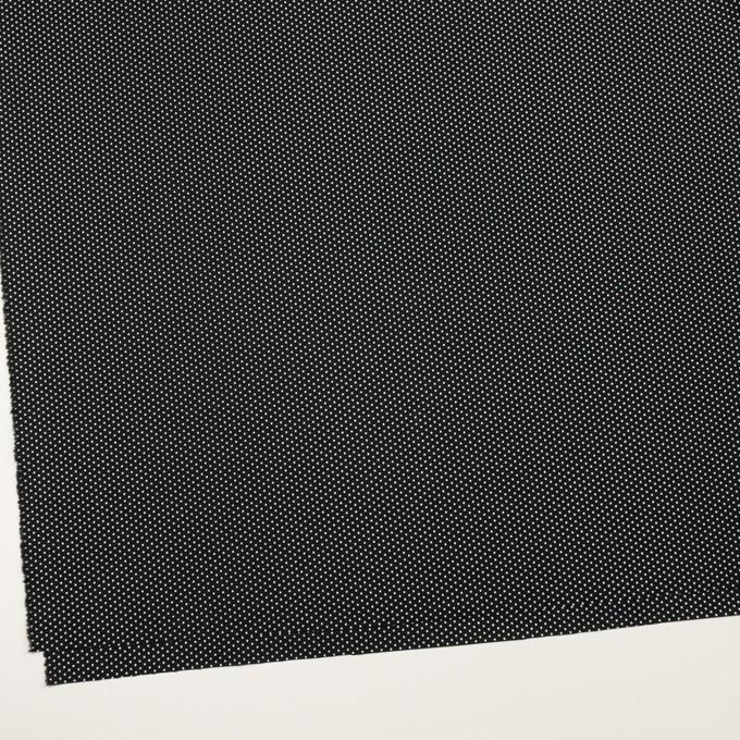 コットン×ドット(ブラック)×ブロード_全2色 イメージ2