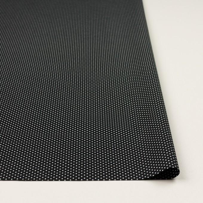 コットン×ドット(ブラック)×ブロード_全2色 イメージ3