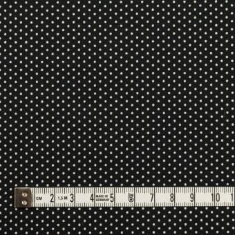 コットン×ドット(ブラック)×ブロード_全2色 サムネイル4