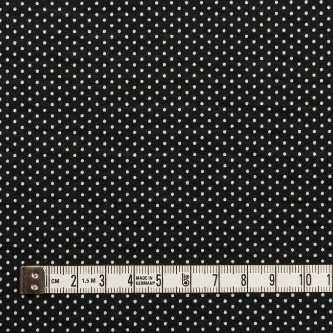 コットン×ドット(ブラック)×ブロード_全2色 イメージ4