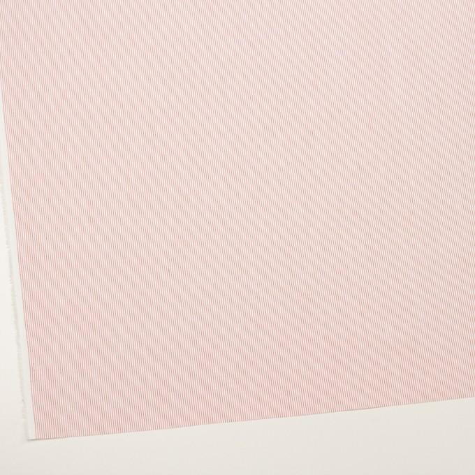 コットン×ストライプ(レッド)×ブロード_全2色 イメージ2