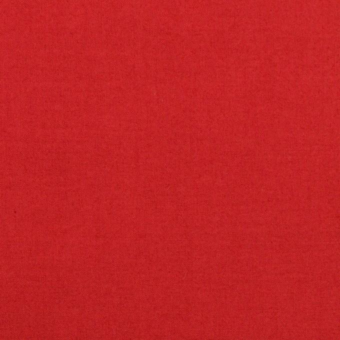 コットン×無地(レッド)×ローン_全13色 イメージ1