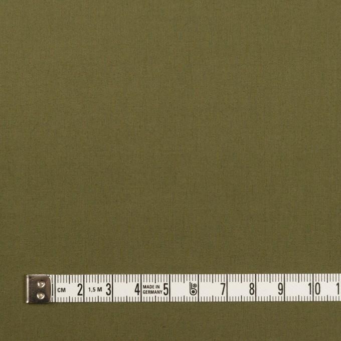 コットン×無地(カーキグリーン)×ローン_全13色 イメージ4