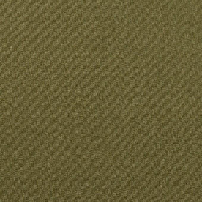 コットン×無地(カーキグリーン)×ローン_全13色 イメージ1