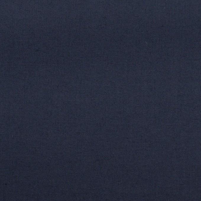 コットン×無地(ネイビー)×ローン_全13色 イメージ1