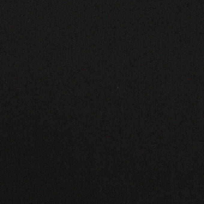 コットン×無地(ブラック)×ローン_全13色 イメージ1