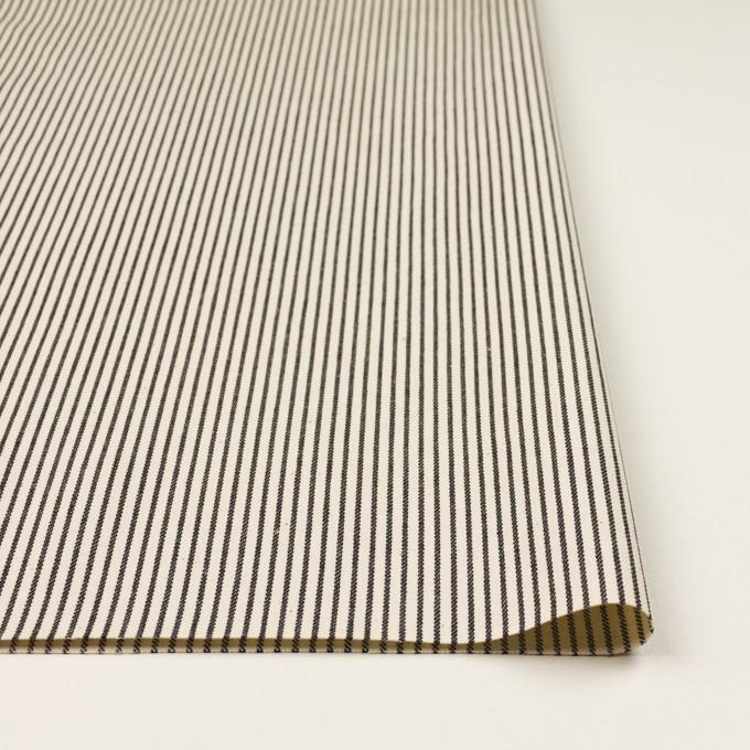 コットン×ストライプ(キナリ&ディープインディゴ)×デニムヒッコリー(9.5oz) イメージ3