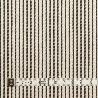 コットン×ストライプ(キナリ&ディープインディゴ)×デニムヒッコリー(9.5oz) サムネイル4