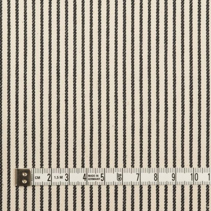 コットン×ストライプ(キナリ&ディープインディゴ)×デニムヒッコリー(9.5oz) イメージ4