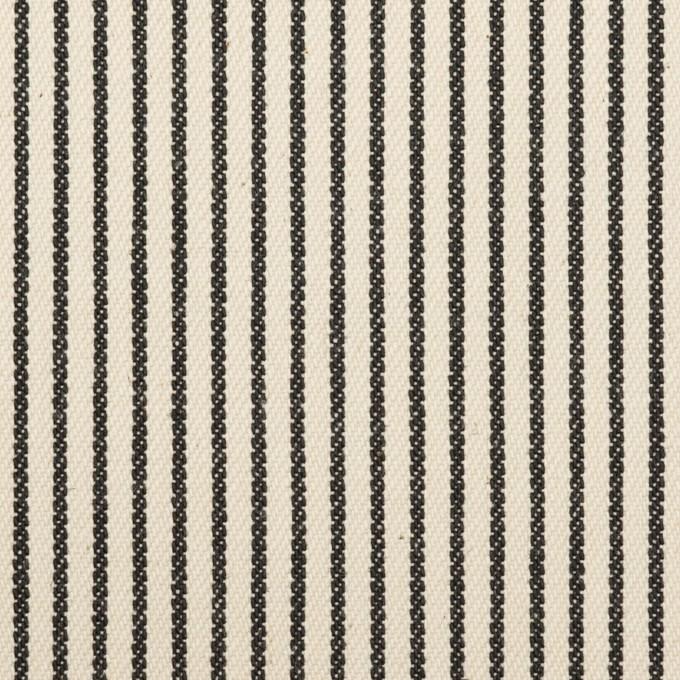 コットン×ストライプ(キナリ&ディープインディゴ)×デニムヒッコリー(9.5oz) イメージ1