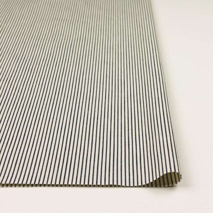 コットン×ストライプ(キナリ&インディゴ)×デニムヒッコリー(6oz) イメージ3