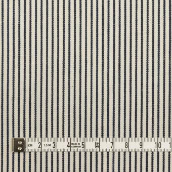 コットン×ストライプ(キナリ&インディゴ)×デニムヒッコリー(6oz) サムネイル4