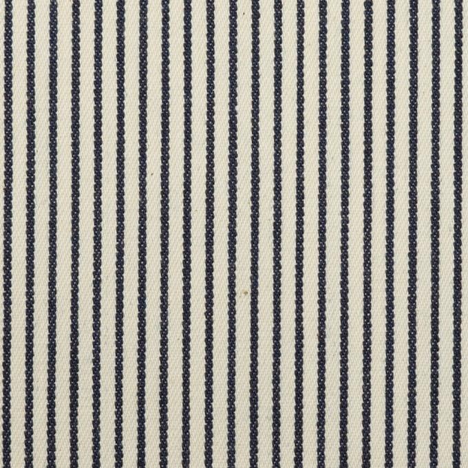 コットン×ストライプ(キナリ&インディゴ)×デニムヒッコリー(6oz) イメージ1
