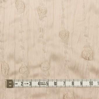 ポリエステル×ストライプ(ウォームベージュ)×サテンジャガード・ワッシャー サムネイル4