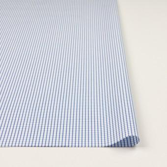 コットン×チェック(ブルー)×ブロード_全2色 サムネイル3