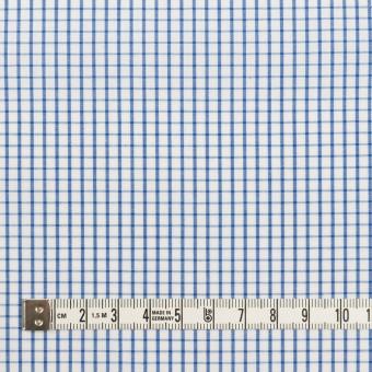 コットン×チェック(ブルー)×ブロード_全2色 サムネイル4